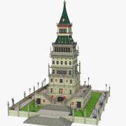 幻想经典建筑 3d model