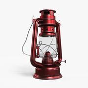 Yağ Lambası Kırmızı 3d model