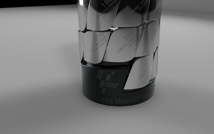 MotoGP Champions Tower 2019 L460 royalty-free 3d model - Preview no. 3