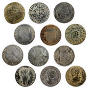 Ancient Coin Collection 3d model
