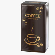 Coffee Packing 04 3d model