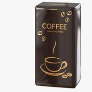 Koffie verpakken 04 3d model