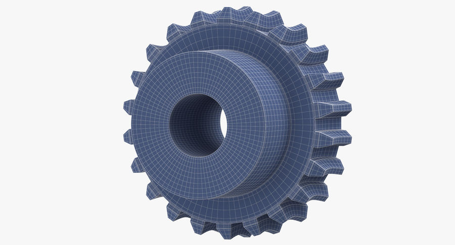Worm Gears Collection royalty-free 3d model - Preview no. 30