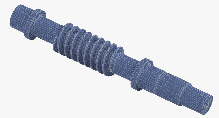 Worm Gears Collection royalty-free 3d model - Preview no. 21