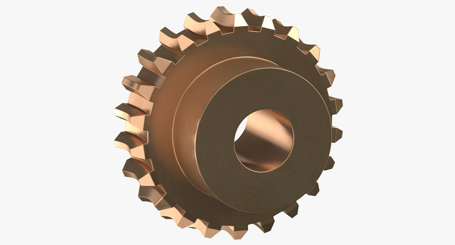 Worm Gears Collection royalty-free 3d model - Preview no. 11