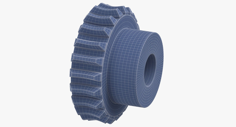 Worm Gears Collection royalty-free 3d model - Preview no. 28