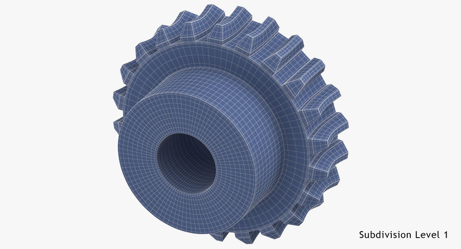 Worm Gears Collection royalty-free 3d model - Preview no. 35