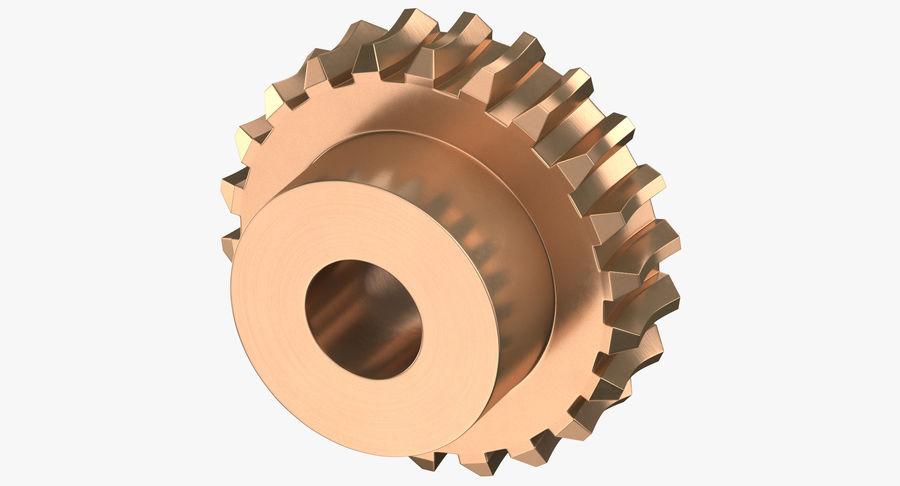 Worm Gears Collection royalty-free 3d model - Preview no. 14