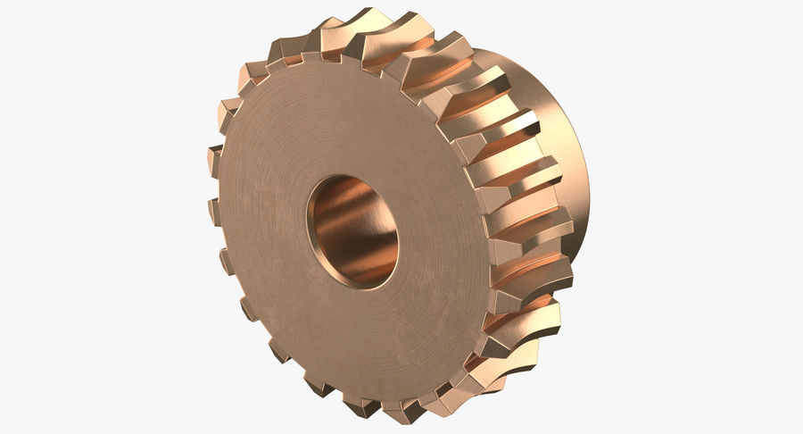 Worm Gears Collection royalty-free 3d model - Preview no. 12