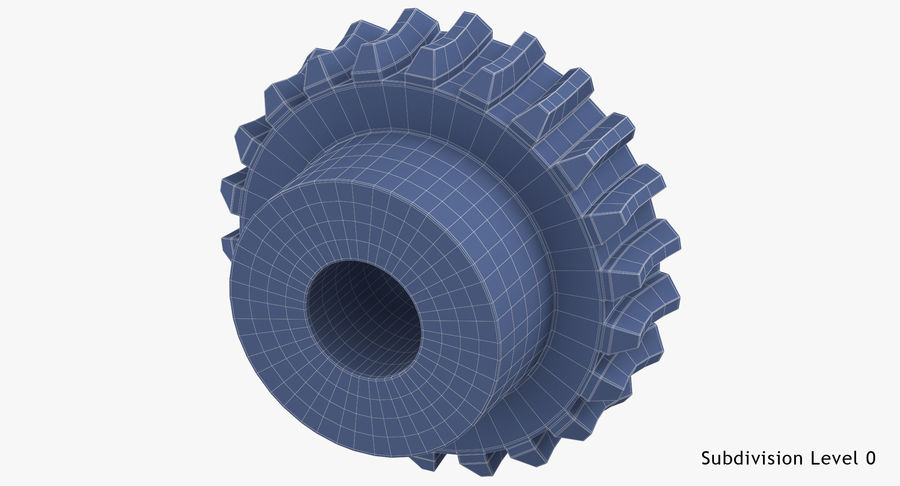 Worm Gears Collection royalty-free 3d model - Preview no. 34
