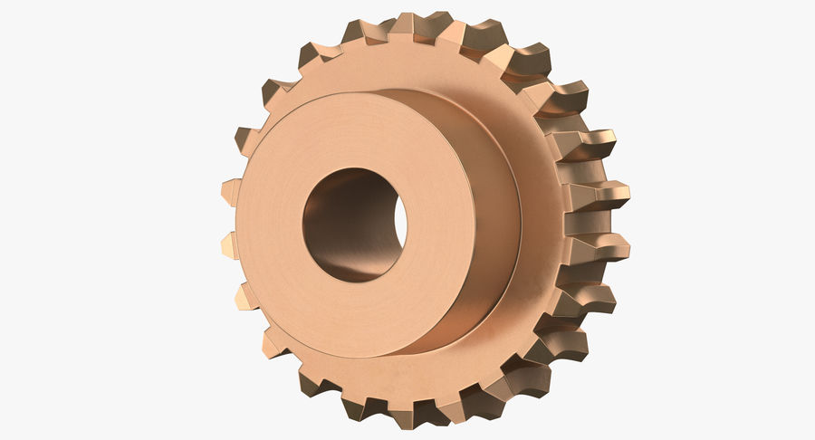 Worm Gears Collection royalty-free 3d model - Preview no. 16