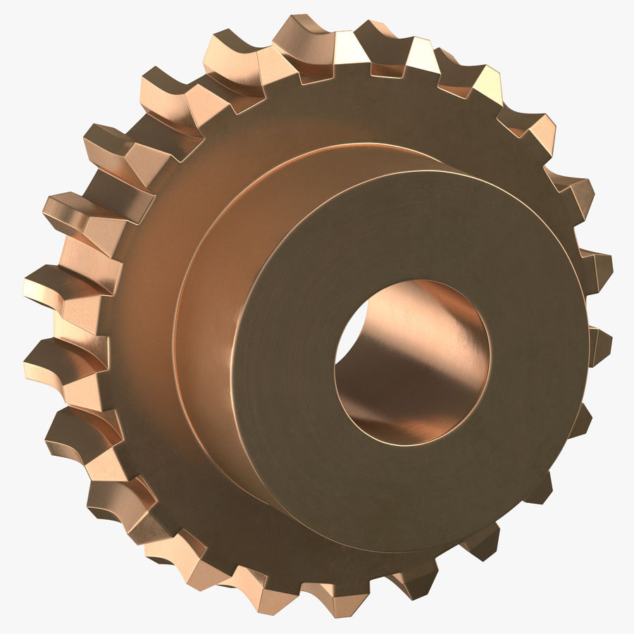 Worm Gears Collection royalty-free 3d model - Preview no. 3
