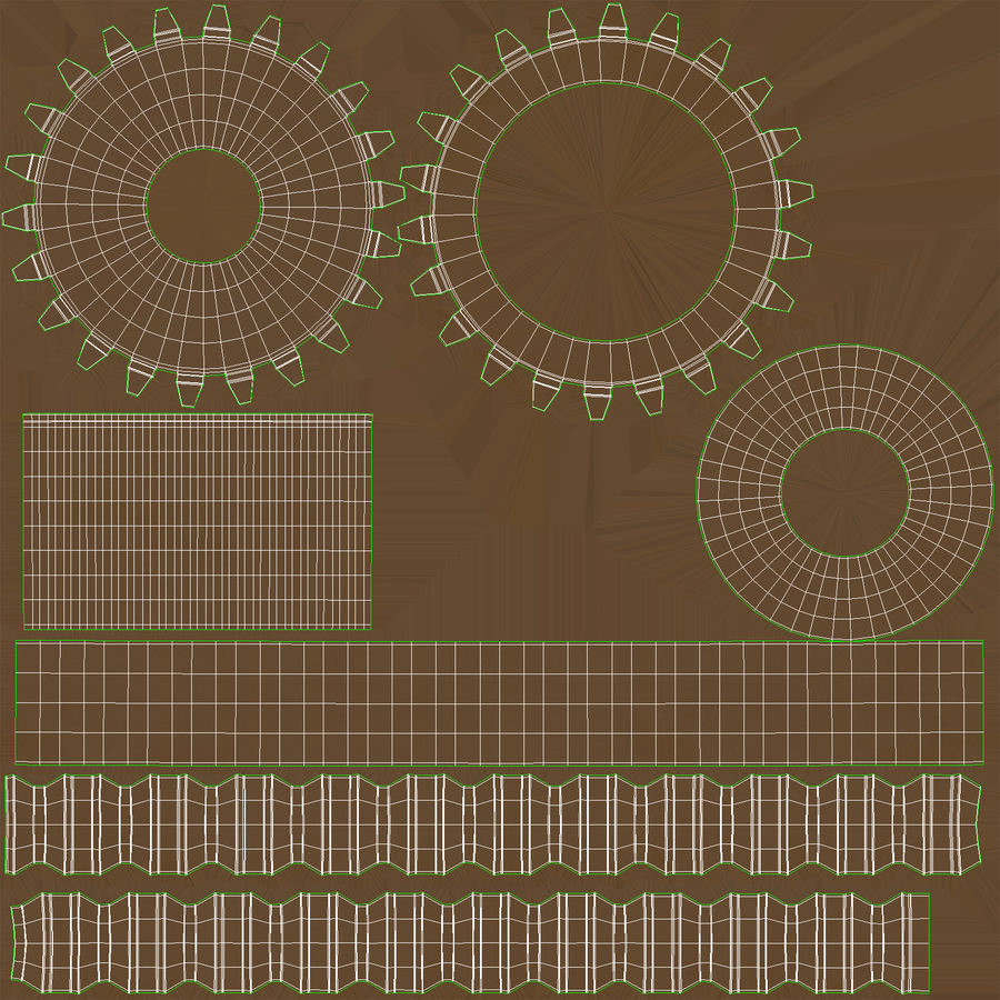 Worm Gears Collection royalty-free 3d model - Preview no. 36