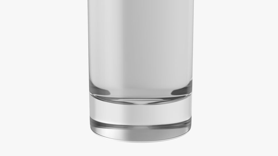 Collins Glass With Water royalty-free 3d model - Preview no. 7