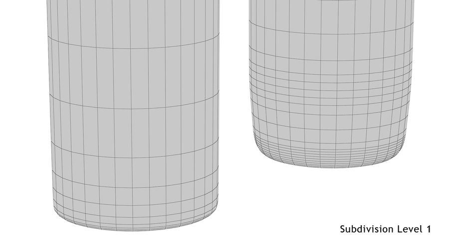 Collins Glass With Water royalty-free 3d model - Preview no. 16