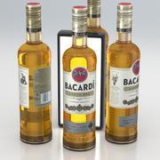 Бутылка для алкоголя Bacardi Carta Oro Superior Золотой Ром 700мл 2019 3d model