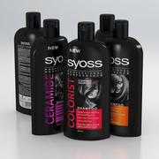 Syoss Shampoo Women Professional Performance 500ml 2019 Collection 3d model