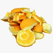 Cáscaras de naranja 01 modelo 3d