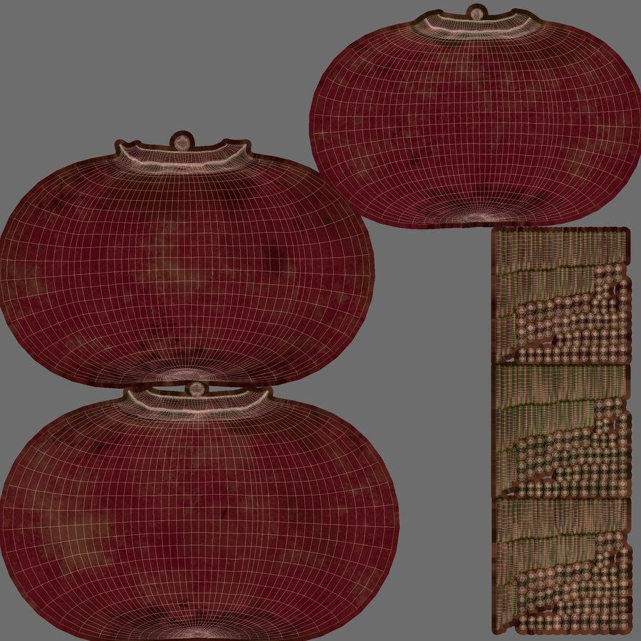 Caja de frutas de granada royalty-free modelo 3d - Preview no. 15