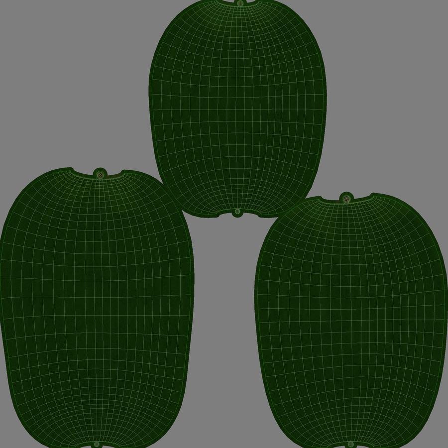 Caja de frutas de pepino royalty-free modelo 3d - Preview no. 14