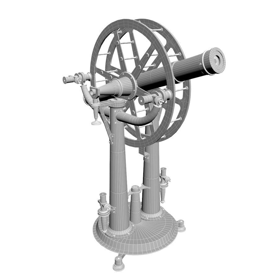 Instrument wysokości i azymutu royalty-free 3d model - Preview no. 11
