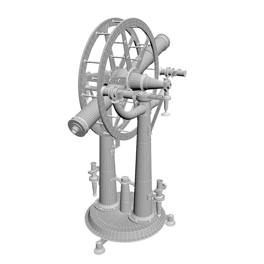 Instrument wysokości i azymutu royalty-free 3d model - Preview no. 8