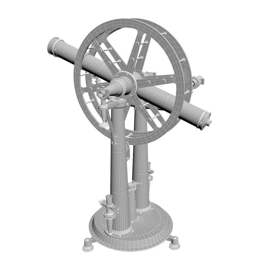 Instrument wysokości i azymutu royalty-free 3d model - Preview no. 9