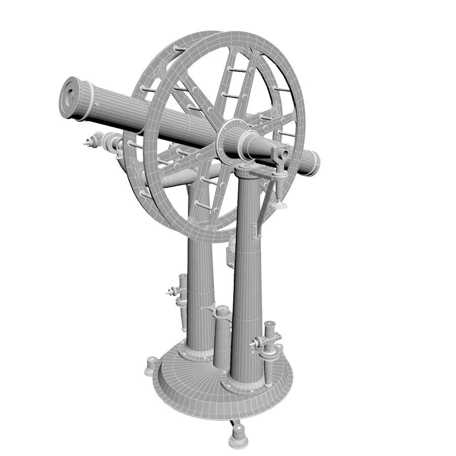 Instrument wysokości i azymutu royalty-free 3d model - Preview no. 10