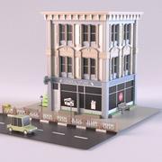 Algemene winkel 01 3d model