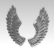 天使之翼 3d model
