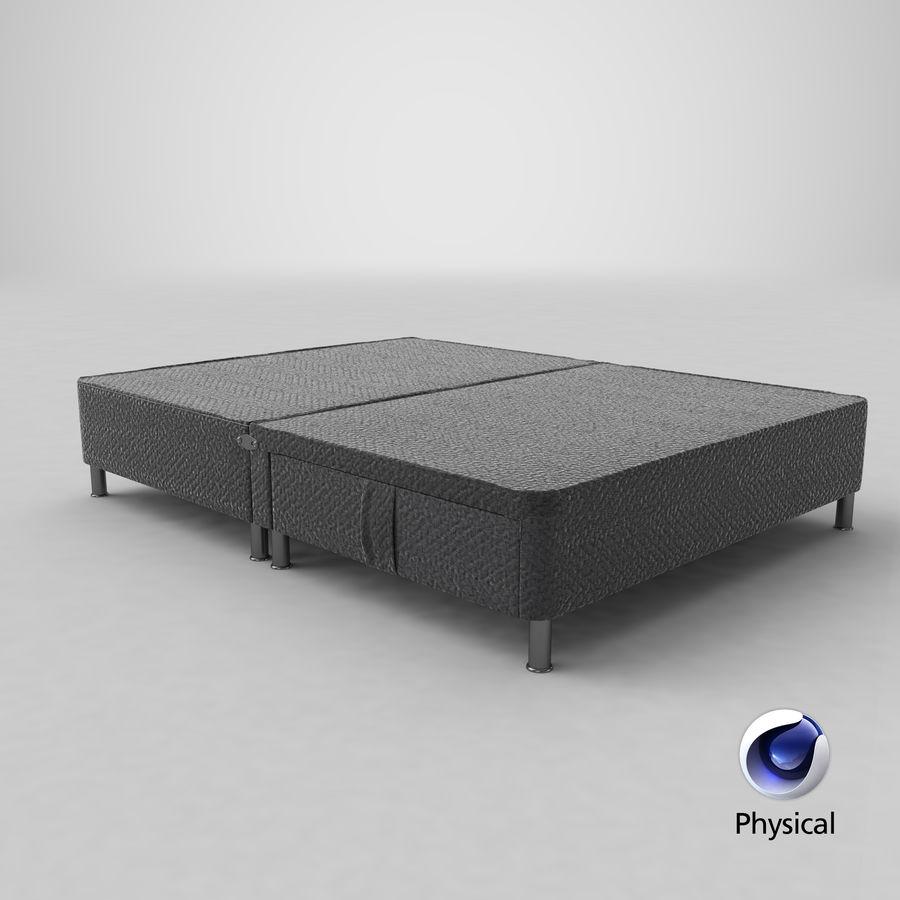 ベッドベース06チャコール1 royalty-free 3d model - Preview no. 20