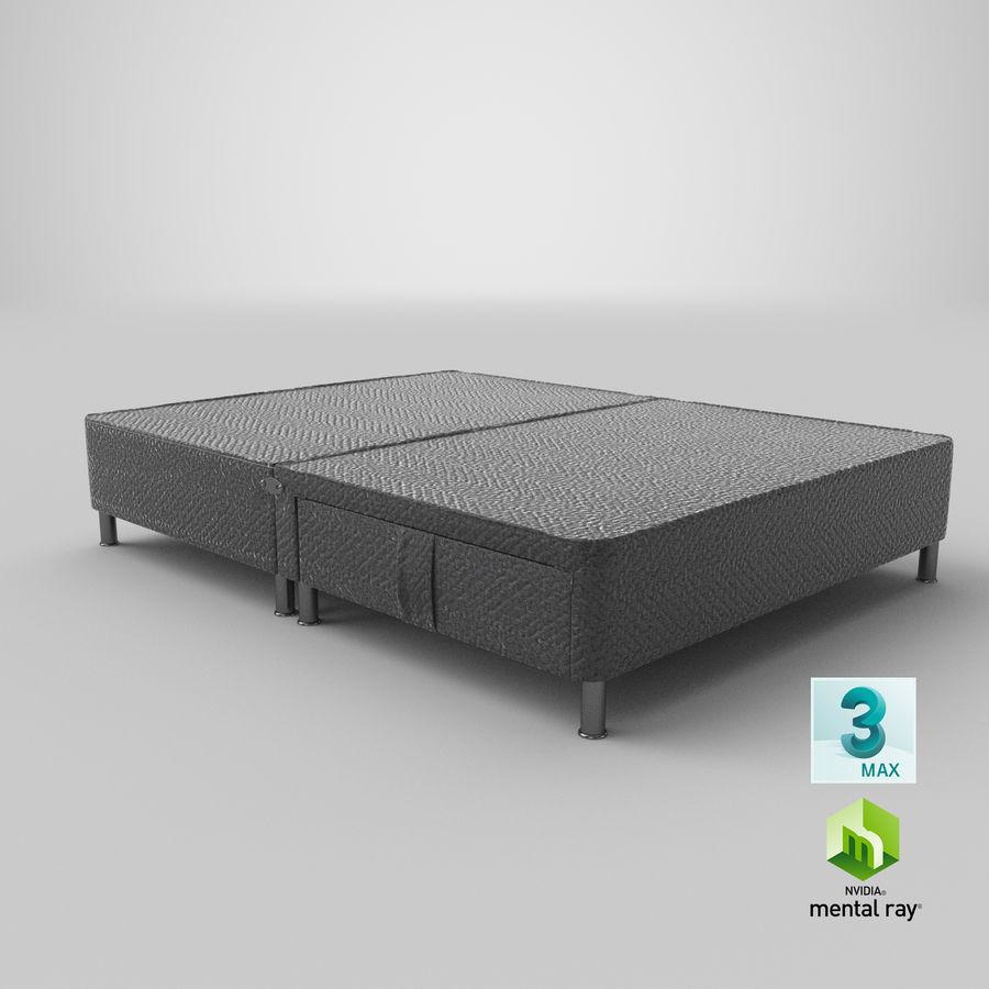 ベッドベース06チャコール1 royalty-free 3d model - Preview no. 23