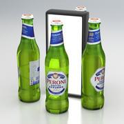 ビール瓶ペローニナストロアズーロA 330ml 2019 3d model