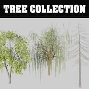 Kolekcja drzew 3d model