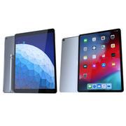 Coleção Apple iPad 3d model
