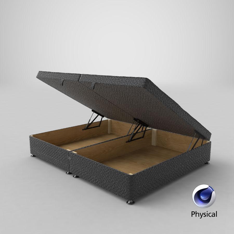 床架07开放木炭 royalty-free 3d model - Preview no. 21