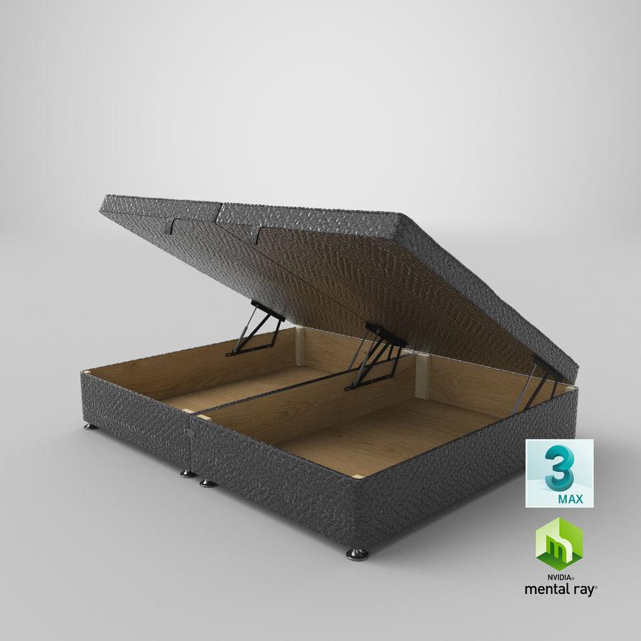 床架07开放木炭 royalty-free 3d model - Preview no. 24