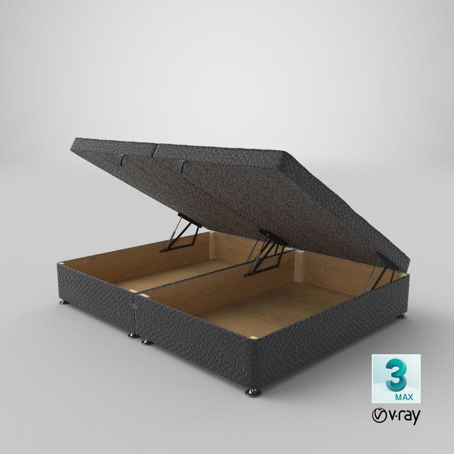 床架07开放木炭 royalty-free 3d model - Preview no. 25