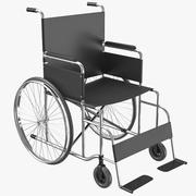 Wheel Chair 01 3D Model 3d model
