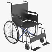Wheel Chair 02 3D Model 3d model
