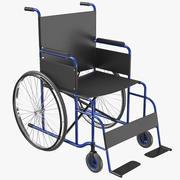 Wheel Chair 03 3D Model 3d model
