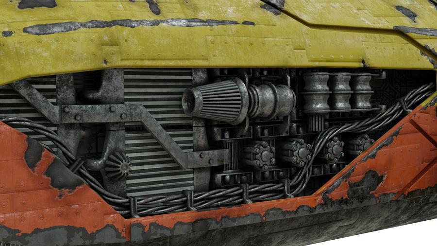 Детали двигателя Scifi royalty-free 3d model - Preview no. 10