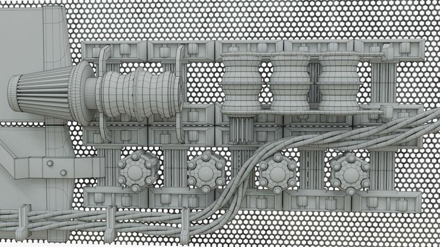 Детали двигателя Scifi royalty-free 3d model - Preview no. 5