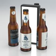 맥주 병 Einstok Olgerd 아이슬란드 화이트 에일 330ml 2019 3d model
