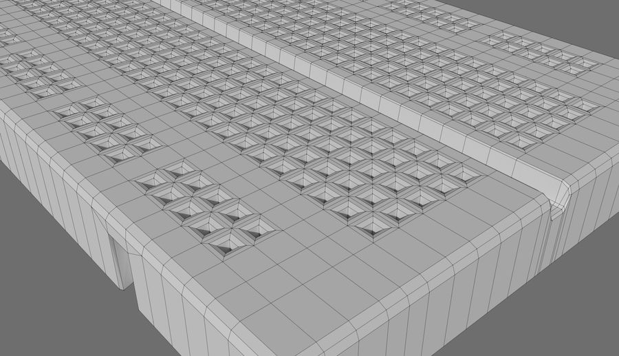 Proto board royalty-free 3d model - Preview no. 6