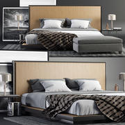 Envy King Bed SET 3d model