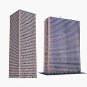 Colección de edificios 2 modelo 3d