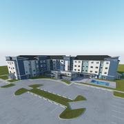 L'hôtel 3d model