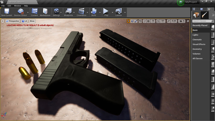 グロック34 royalty-free 3d model - Preview no. 11