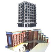 Collection Hôtels 3d model